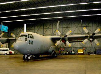 Plane at Waterkloof Airforce Base