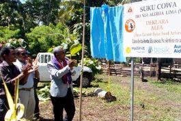 Declaration of ALFA in a suco village