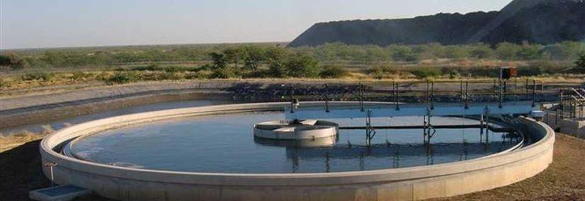 New Sewage Treatment Works at Orapa Mine