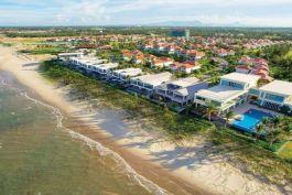 Danang Beach Resort, beachfront view