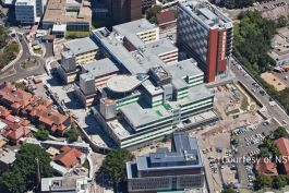 Royal North shore Hospital - Aerial view