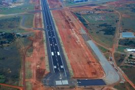 Rebuilding of the main and secondary runways, taxiways and hardstand areas at Waterkloof Air Force Base