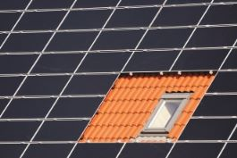Rooftop solar panel cells