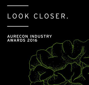 2016 Aurecon industry awards