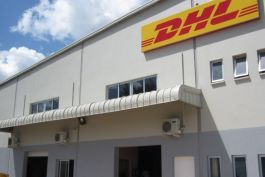 The new DHL Express gateway facility