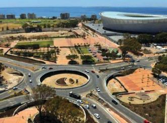 Granger Bay Boulevard and Green Point Roundabout Traffic Circle