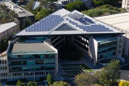 A photo of The University of Queensland, St Lucia Campus Photovoltaic Array
