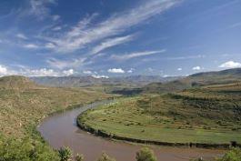 An African river