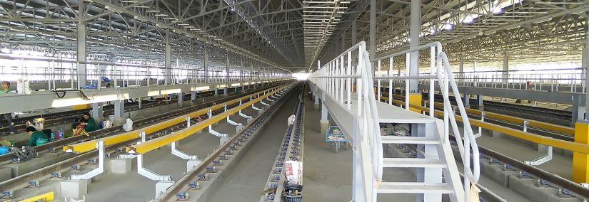 Purple Line stabling depot