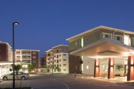 Azure Blue Redcliffe aged care facility - central site