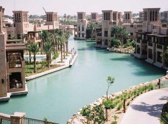 Madinat Jumeirah Resort - Lake view