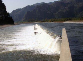 Nam Theun 2 - Oxy Weir