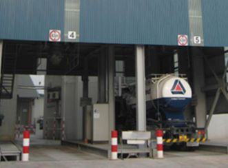 Pan United Cement Silo
